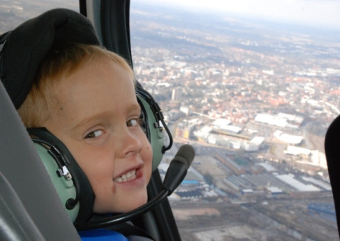 Teen To Raise Money With Helicopter Flight
