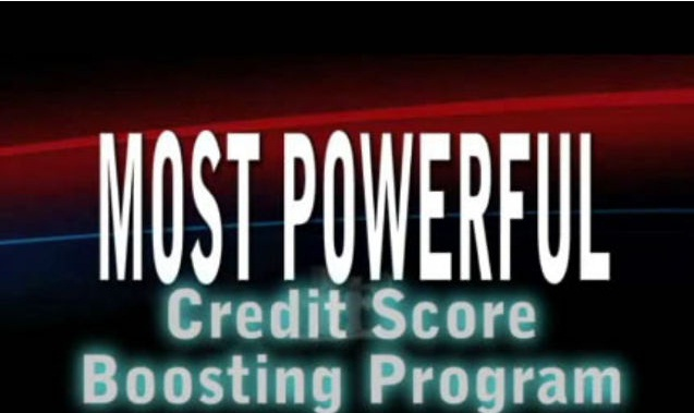 How To Easily Boost Your Credit