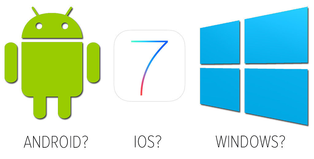 How To Choose Between Android, IOS 7, and Windows Phone