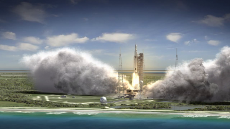 NASA Constructing A Rocket To Travel With Humans In 2030s and The Test Launch In 2018
