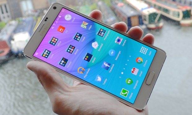 Samsung Galaxy Note 4 Best Phone Of 2014