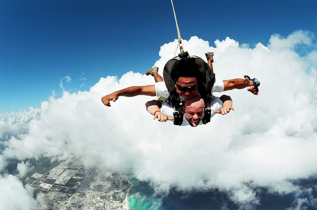 Top 10 World's Best Places To Skydive