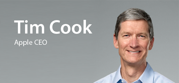Tim Cook, CEO