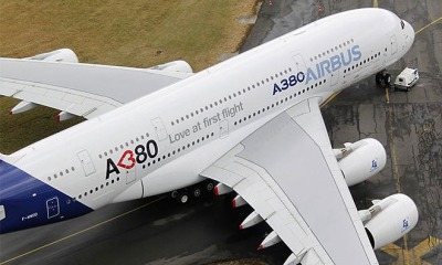 India Lifts Ban On The Airbus A380