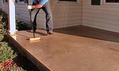 How To Paint A Concrete Patio
