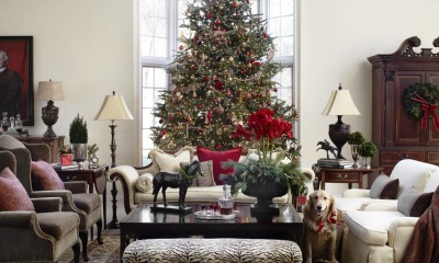 Get Your Living Room Christmas Ready