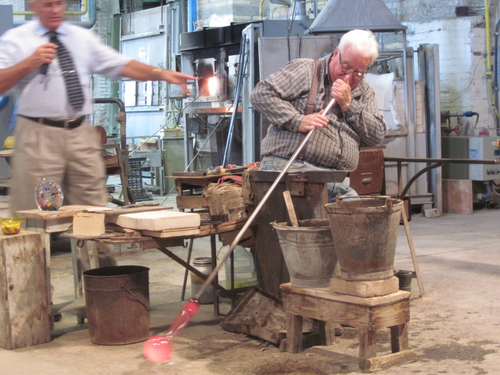 Glass Blowing: How and Where