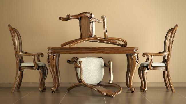 Reproduction Mahogany Dining Chairs