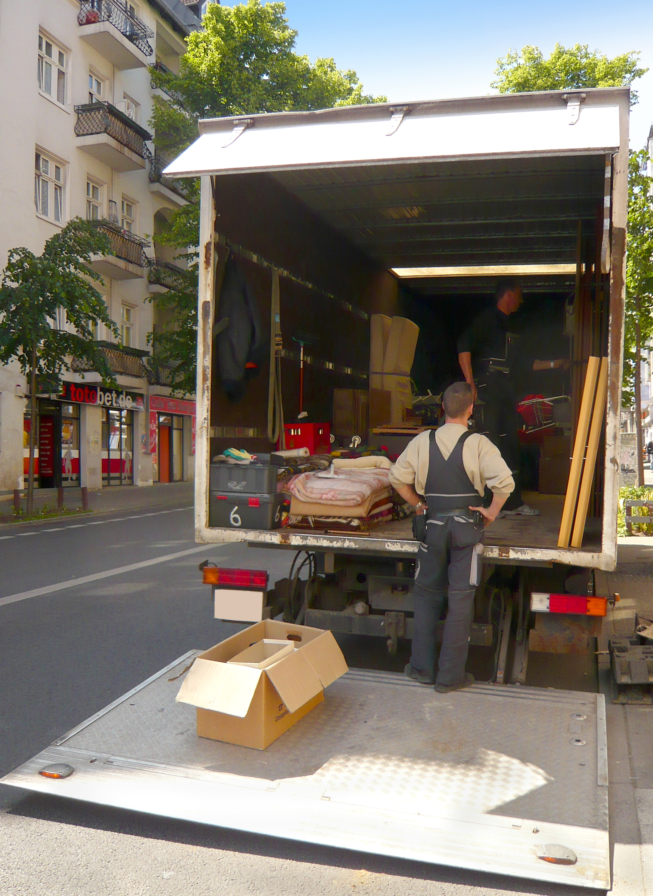 Using A Removal Company In London