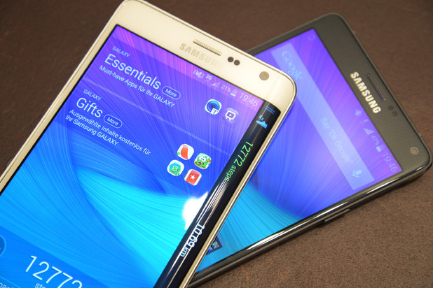 Samsung Galaxy Note Edge 2 and Galaxy Note 5: Stars Of 2015