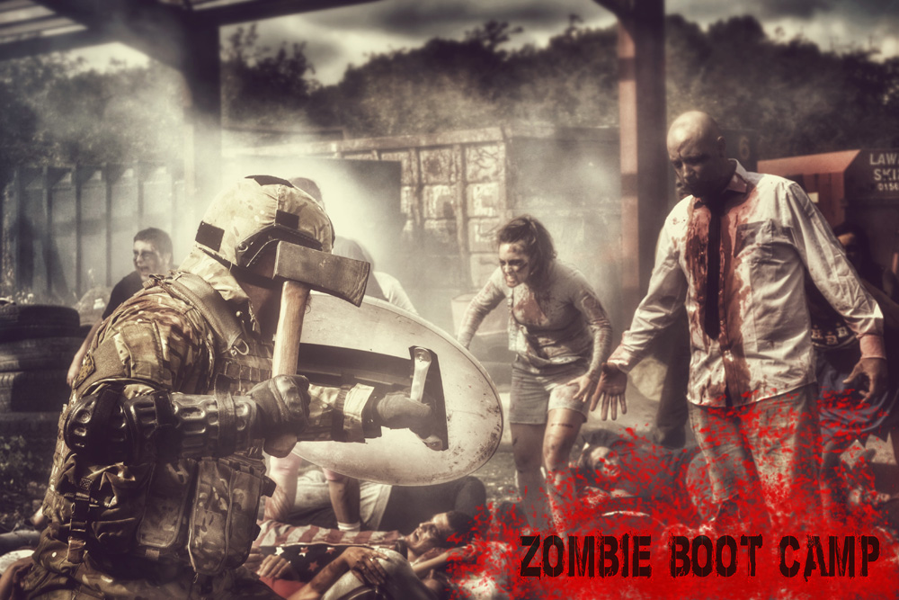 What To Expect From A Zombie Boot Camp