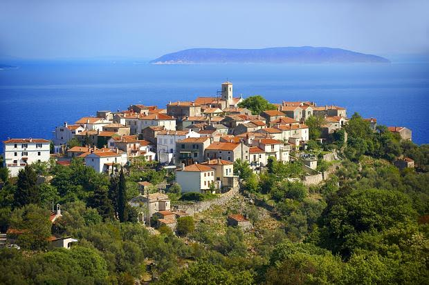 Osor, Picturesque Village On The Cres Island