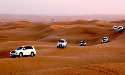 A Life Time Experience: Dubai Wasteland Safari