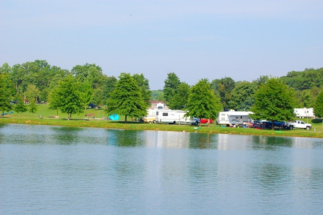 Mountain Lake Campground at Summersville lake