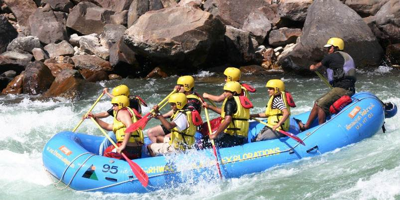 Rishikesh River Rafting – The Best Water Sports To Look Out For