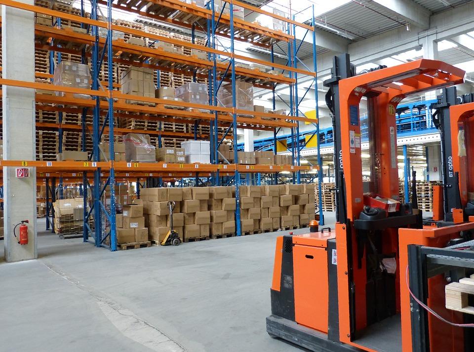 Transport Industrial Hall Trade Logistics Factory