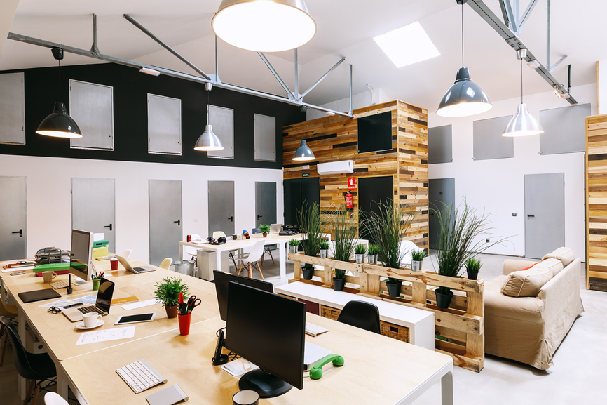 Modern Trendy Coworking Office