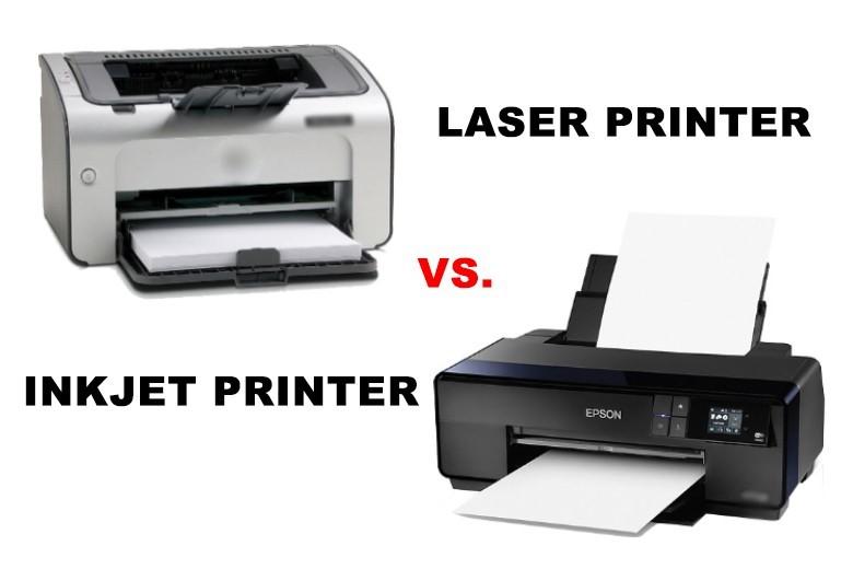 Inkjet or Laser